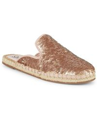 Circus by Sam Edelman - Leanne Sequin Espadrille Mules - Lyst