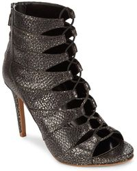 Kenneth Cole - Crisscross Leather Court Shoes - Lyst