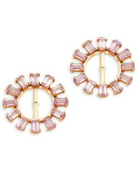 Hueb - 18k Yellow Gold & Pink Sapphire Stud Earring Add-on - Lyst