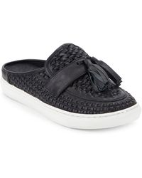 J/Slides - Carissa Woven Leather Slip-on Shoes - Lyst