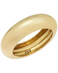 Alexis Bittar - Goldtone Stainless Steel Bangle Bracelet - Lyst