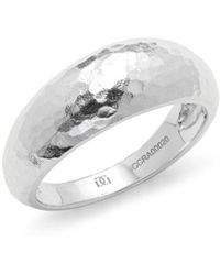 Gurhan - Hammered Sterling Silver Ring - Lyst