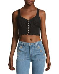 Free People - Here I Go Lace Brami - Lyst