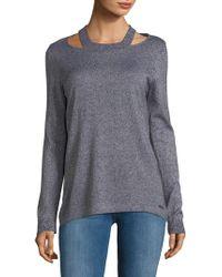 CALVIN KLEIN 205W39NYC - Open Shoulder Pullover - Lyst