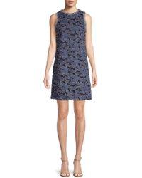 Julia Jordan - Embroidered Sleeveless Dress - Lyst