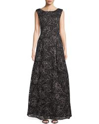 Karl Lagerfeld - Embroidered Lace Gown - Lyst