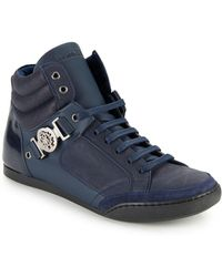 Roberto Cavalli - Leather Lace-up Shoes - Lyst