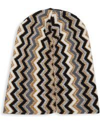 Missoni - Chevron Knit Beanie - Lyst
