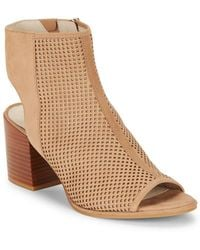 Kenneth Cole - Charlo Perforated Ankle Boots - Lyst