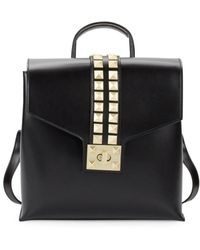 Valentino By Mario Valentino - Rockstud Leather Backpack - Lyst