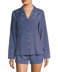 Stella McCartney - Poppy Snoozing Long-sleeve Pajama Set - Lyst