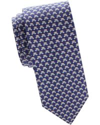 Ferragamo - Peeking Bear Printed Silk Tie - Lyst