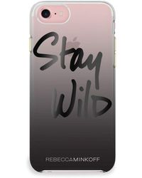 Rebecca Minkoff - Stay Wild Iphone 7 Case - Lyst