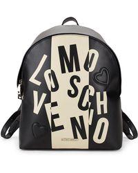 Love Moschino - Logo-print Backpack - Lyst