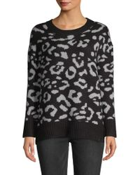 Workshop - Textured Long-sleeve Sweater - Lyst