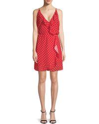 Haute Rogue - Polka Dot Dress - Lyst