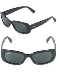 4ef2152ed1 Lyst - Ray-Ban Rectangle Sunglasses in Black for Men