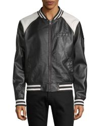 Members Only - Classic Bomber Jacket - Lyst