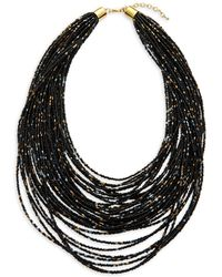 Natasha Couture - Multi-strand Beaded Necklace - Lyst