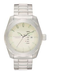 Android - Stainless Steel Tribeca Watch/biege - Lyst