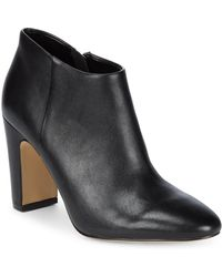 Saks Fifth Avenue - Peyton Leather Booties - Lyst