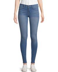 Genetic Denim - Birkin High-rise Distressed Cropped Jeans - Lyst