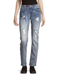 Miss Me - Five-pocket Mid-rise Jeans - Lyst