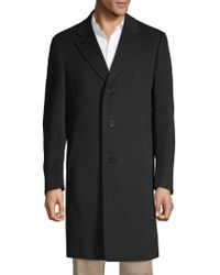 Canali - Classic Wool & Cashmere Topcoat - Lyst