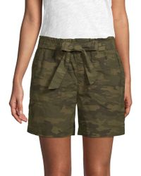Sanctuary - Daydreamer Camouflage Shorts - Lyst