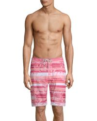 Tommy Bahama - Baja Leaf On The Water Swim Shorts - Lyst