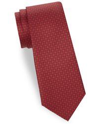 Saks Fifth Avenue - Tonal Floral Silk Tie - Lyst