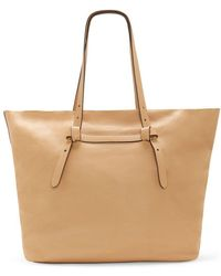 Vince Camuto - Aggie Leather Tote - Lyst