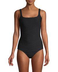 Gottex - Essence One-piece Squareneck Swimsuit - Lyst