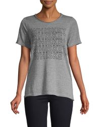 Chaser - Heathered Graphic Tee - Lyst