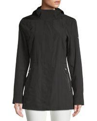 Calvin Klein - Double Layer Rain Coat - Lyst