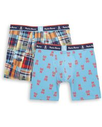 Psycho Bunny - Printed Boxer Briefs/set Of 2 - Lyst