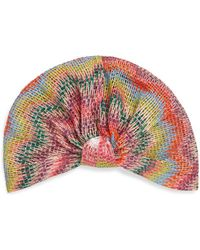 Missoni - Knotted Multicolored Turban - Lyst