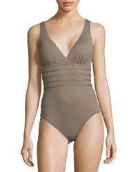 La Blanca - One-piece Strappy Swimsuit - Lyst