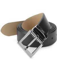 Armani - Classic Leather Belt - Lyst