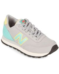 New Balance - Round Toe Lace-up Sneakers - Lyst