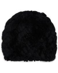 Annabelle New York - Dyed Rabbit Fur Hat - Lyst