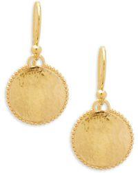 Gurhan - 22k Gold Drop Earrings - Lyst