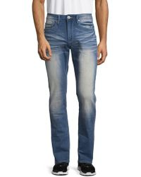 Buffalo David Bitton - Ash Skinny Bleach Jeans - Lyst