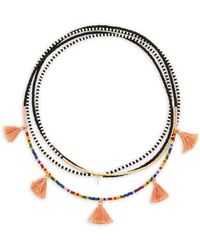 Shashi - Delilah Multi-layered Beaded Necklace - Lyst