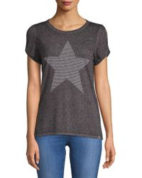 Marc New York - Cut-out Short-sleeve Top - Lyst