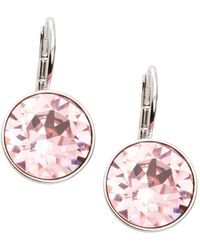 Swarovski - Bella Crystal Drop Earrings - Lyst