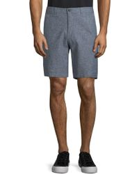 Saks Fifth Avenue | Micro Check Shorts | Lyst