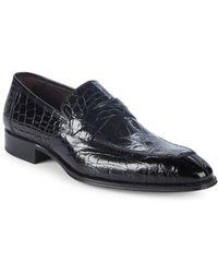 Mezlan - Sierpes Leather Dress Shoes - Lyst