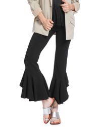 Plenty by Tracy Reese - Cascading Ruffle Ankle Pants - Lyst
