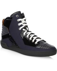 Bally - High-top Leather Sneakers - Lyst